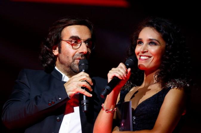 André Manoukian et Aida Touihiri le 24 novembre 2014