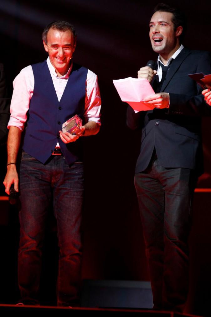 Elie Semoun et Nicolas Bedos le 24 novembre 2014