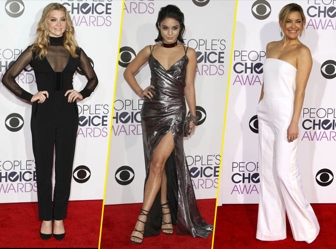 People's Choice Awards 2016 : Natalie Dormer, Vanessa Hudgens, Kate Hudson... toutes sublimes sur le red carpet !