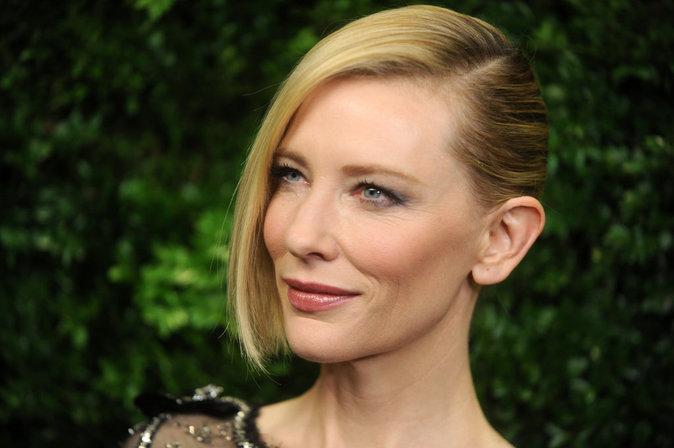 Photo : Cate Blanchett resplendissante pour recevoir un prix d'honneur