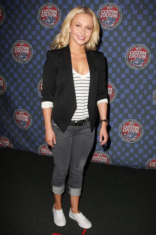 Hayden Panettiere en mode casual chic !