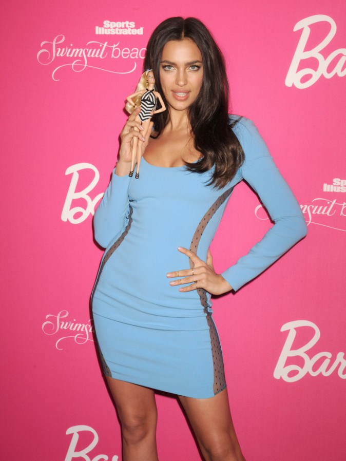 Irina Shayk à la soirée du 50e anniversaire du magazine Sports Illustrated Swimsuit Issue à New York, le 17 février 2014.