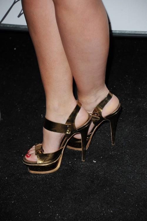 Jennifer Love Hewitt au défilé Max Azria, le 13 février 2011 à New York