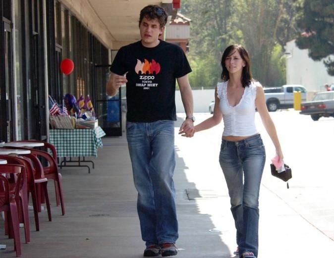 Jennifer et John en 2002.