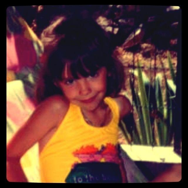 Alexandra à 5 ans