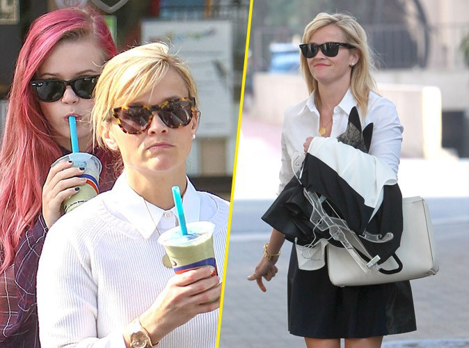 Photo : Reese Witherspoon : l'actrice s'offre une petite virée mère-fille !