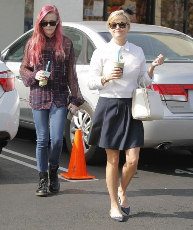 Reese Witherspoon avec sa fille Ava