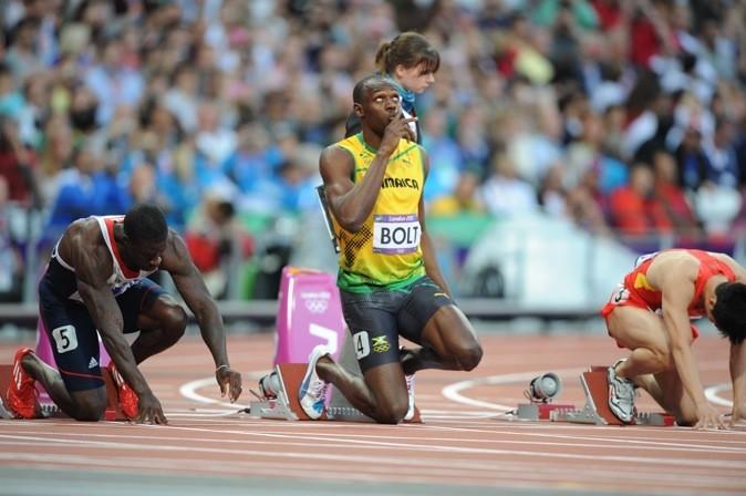 2012: Usain en pleine concentration !