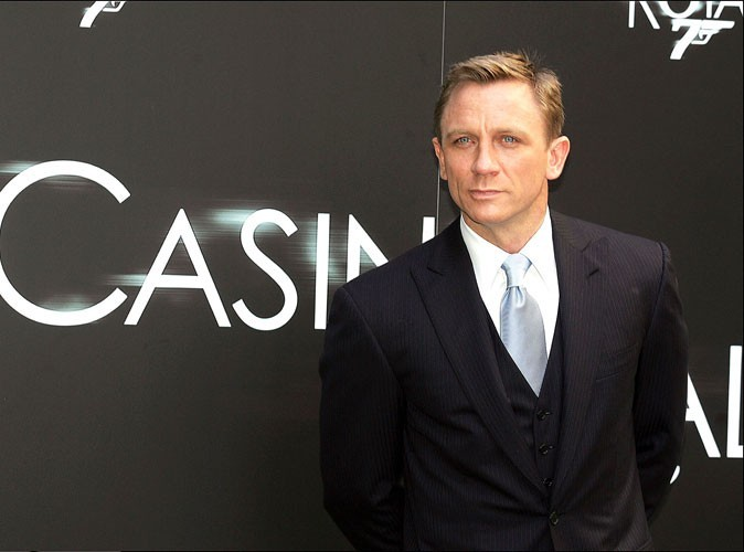 Photos : Daniel Craig en promotion de Casino Royale