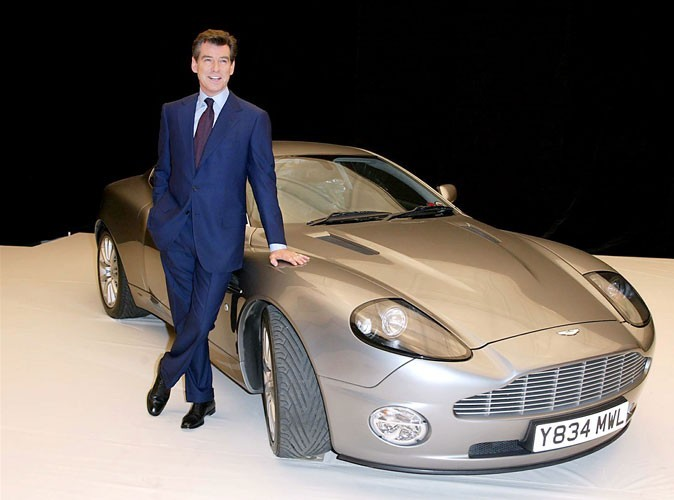 Photos : Pierce Brosnan est James Bond
