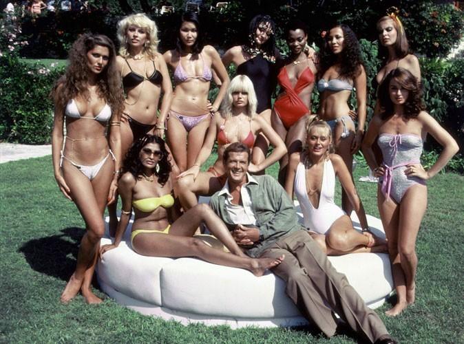 Photos : Roger Moore dans Rien que pour vos yeux en 1981