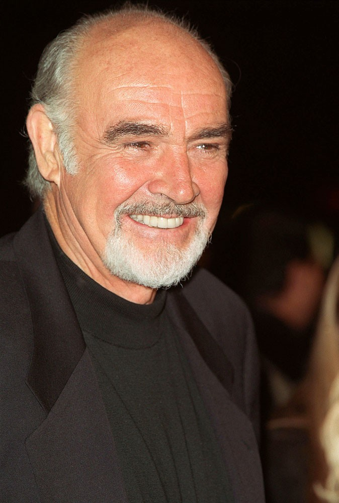 Photos : Sean Connery en 2000
