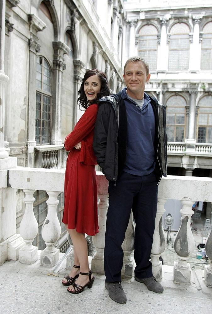 Photos : Eva Green aux côtés de Daniel Craig dans Casino Royale
