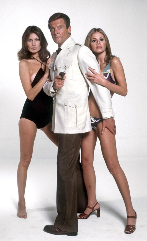 Photos : Maud Adams et Britt Ekland sont les James Bond girl de L'homme au pistolet d'or
