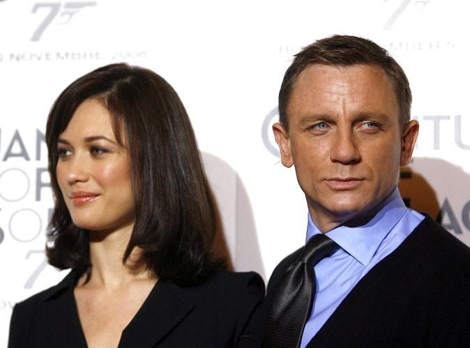 Photos : Olga Kurylenko et Daniel Craig pour la promo de Quantum of Solace