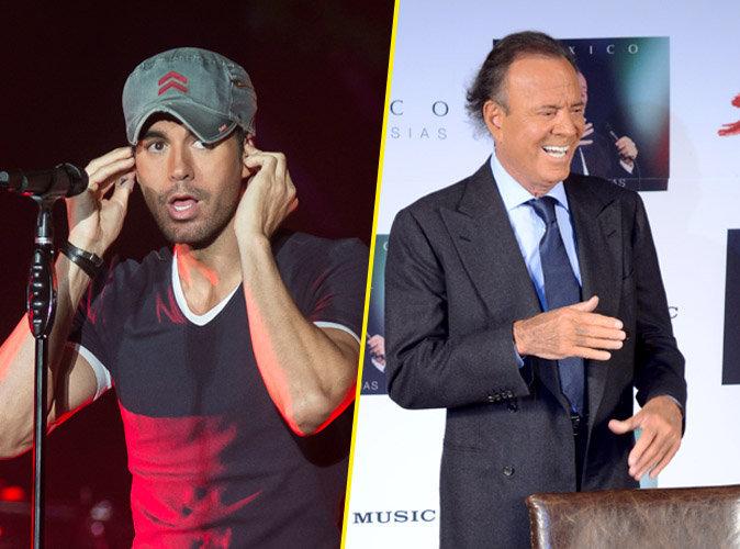 Photos : Ces 47 papas ont offert la célébrité en héritage à leurs enfants : Enrique Iglesias et Julio Iglesias
