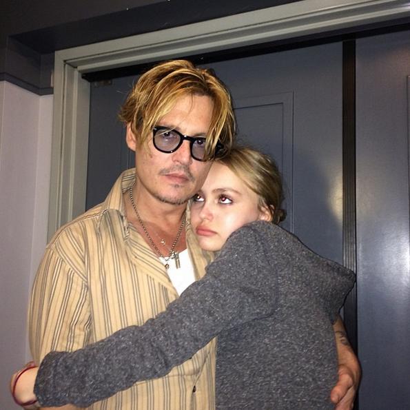 Photos : Ces 47 papas ont offert la célébrité en héritage à leurs enfants : Johnny Depp, Lily-Rose Depp