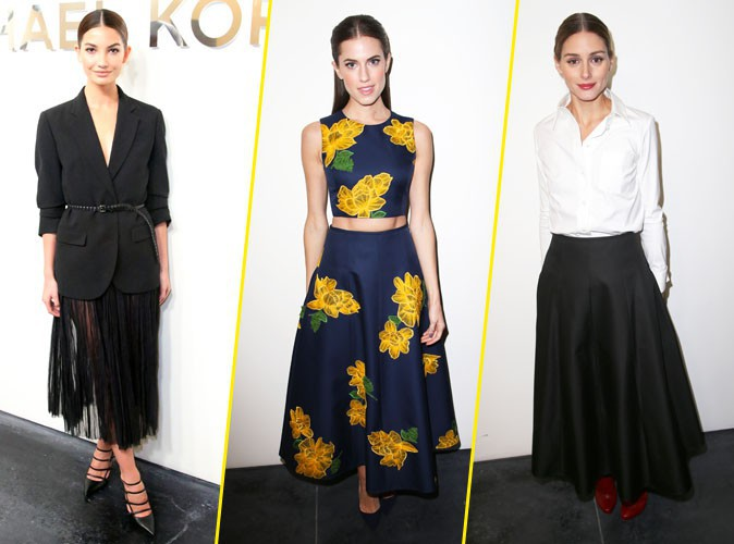 Photos : Lily Aldridge, Allison Williams, Olivia Palermo... Féminité et sensualité au show Michael Kors !