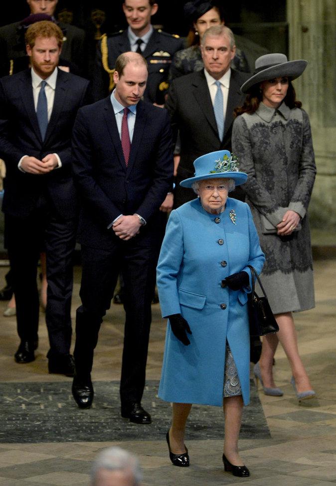 Elizabeth II a toujour été très proche de ses petits-enfants
