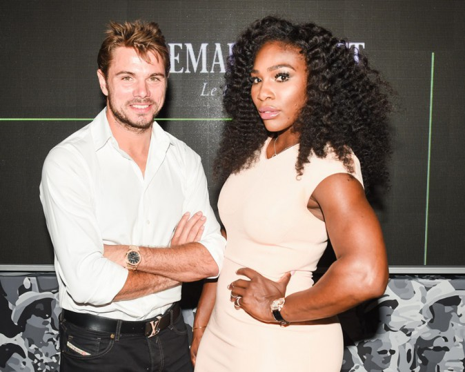 Serena Williams et Stan Wawrinka