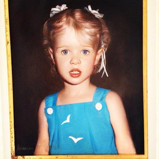 Une adorable petite Nicky Hilton