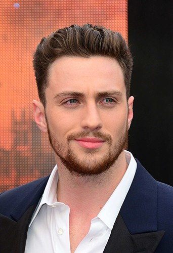 Aaron Taylor-Johnson à Londres le 11 mai 2014