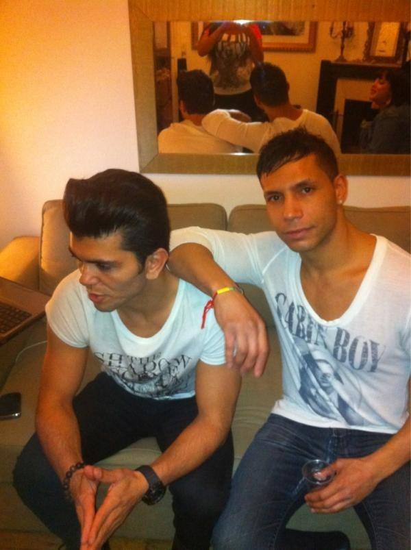 Abès et Sandro