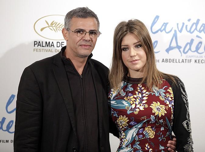Adèle Exarchopoulos et Abdellatif Kechiche à Madrid le 22 octobre 2013