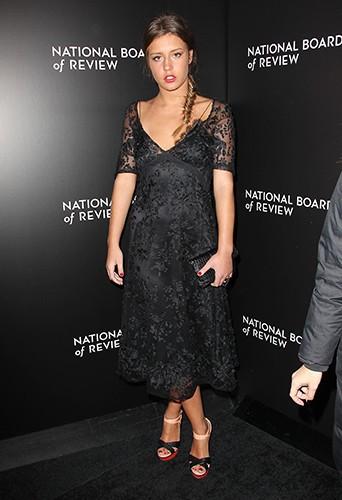 Adèle Exarchopoulos à New-York le 7 janvier 2014