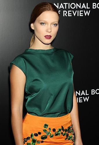 Léa Seydoux à New-York le 7 janvier 2014