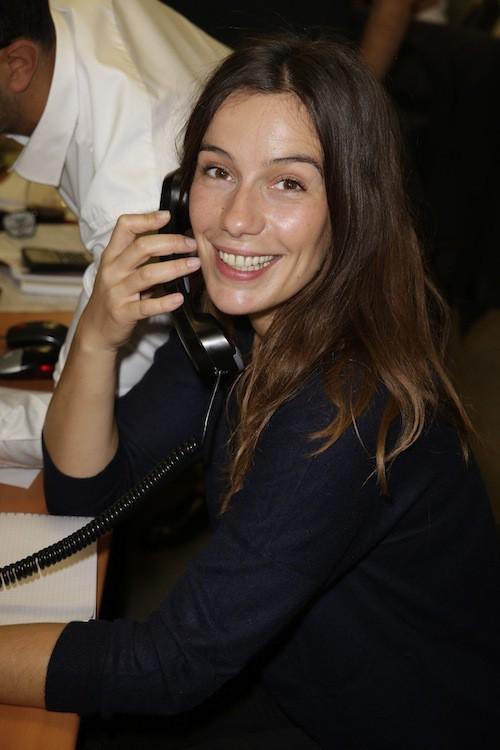 Zoé Félix lève des fonds en hommage aux victimes des attentats du 11/09, à Paris le 11 septembre 2014