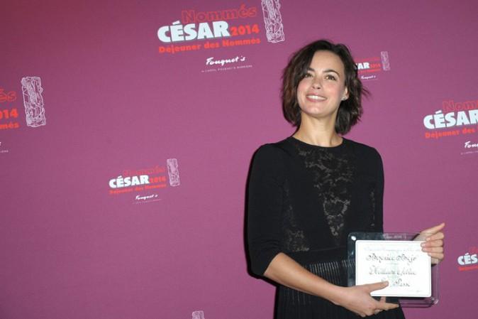Bérénice Béjo au déjeuner des nommés aux César organisé au Fouquet's le 8 février 2014