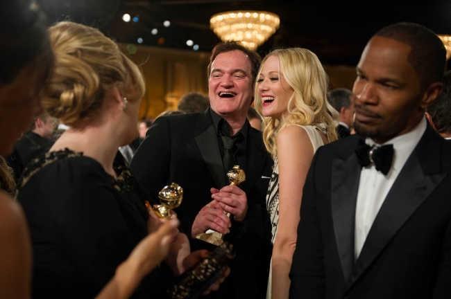 Adele, bien entourée,  le 13 janvier 2013 à Los Angeles