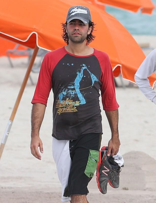 Adrian Grenier, Miami, 10 décembre 2012.