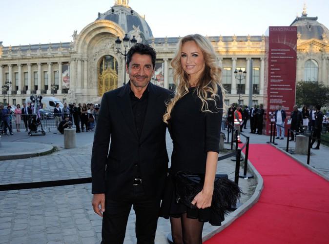 André Ohanian et Adriana Karembeu à Paris le 12 septembre 2014