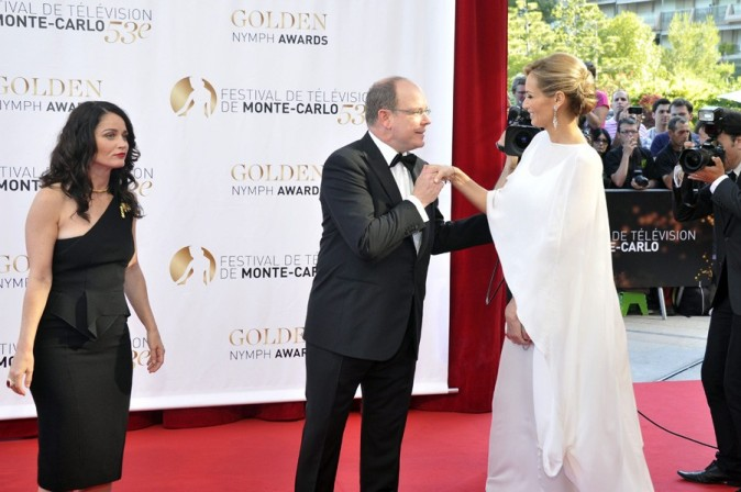 Adriana Karembeu à la cérémonie de clôture du 53 ème Festival de Television de Monte Carlo le 13 juin 2013