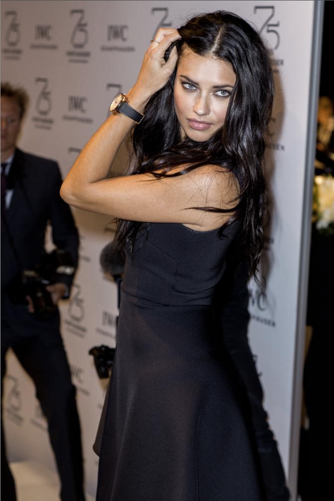 Adriana Lima le 20 janvier 2015