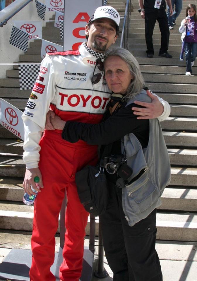 Adrien Brody a emmené sa maman