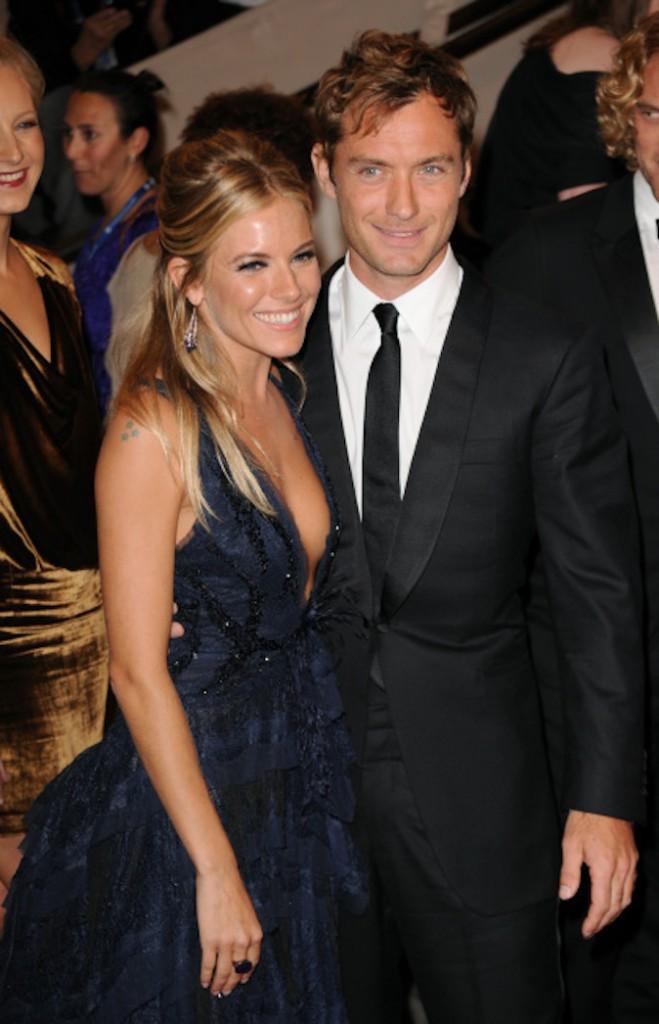Sienna Miller et Jude Law avant leur séparation pour infidélité !