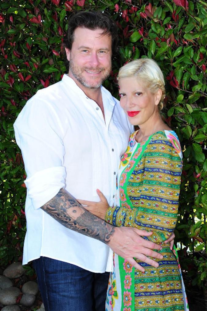 Tori Spelling et son second mari Dean McDermott avec qui elle avait trompé Charlie Shanian !