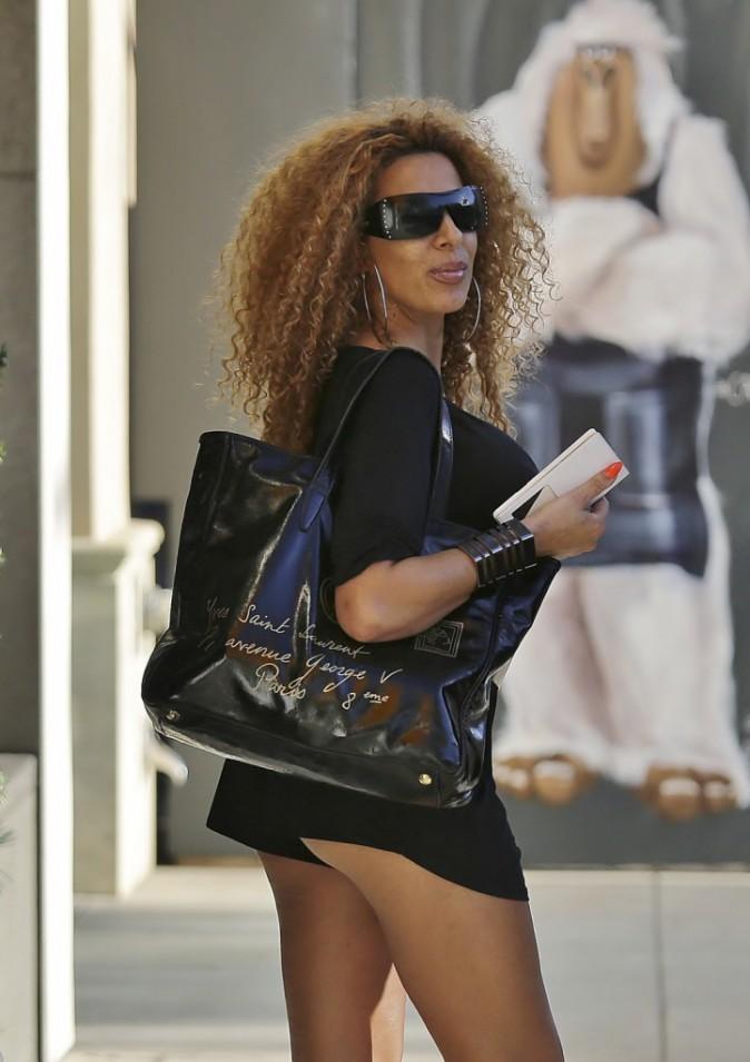 Photos : Afida Turner : mini-mini la tenue, booty en vue !
