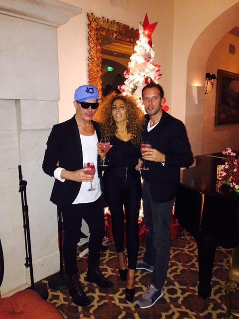Photos : Afida Turner : nouvel an à L.A avec Fabrice Sopoglian, sobriété pour la tigresse !