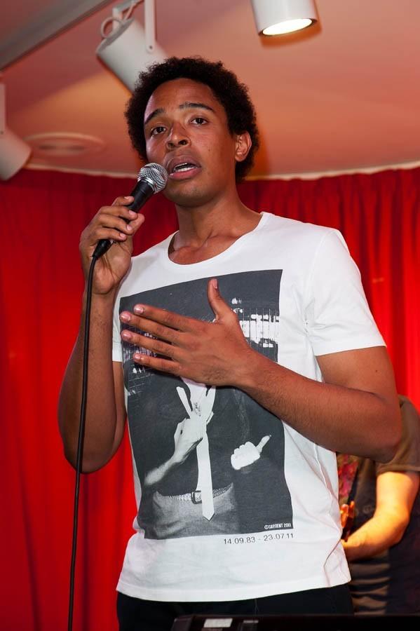Stephan Rizon en dédicaces à Paris le 21 juin 2012