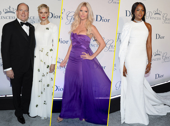 Albert et Charlene de Monaco, Naomi Campbell, Victoria Silvstedt... Tous présents au gala Princesse Grace 2016 !