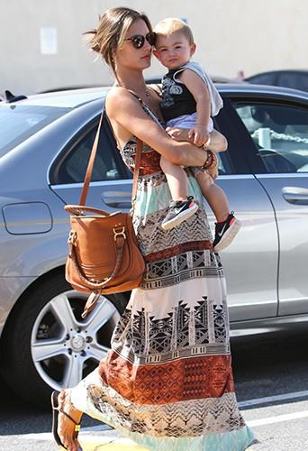 Alessandra Ambrosio à Brentwood le 29 août 2013