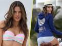 Photos : Alessandra Ambrosio : bombe en bikini comme à bicyclette !