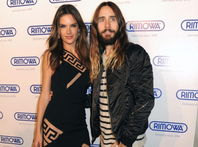 Alessandra Ambrosio : concours de cheveux longs avec Jared Leto !