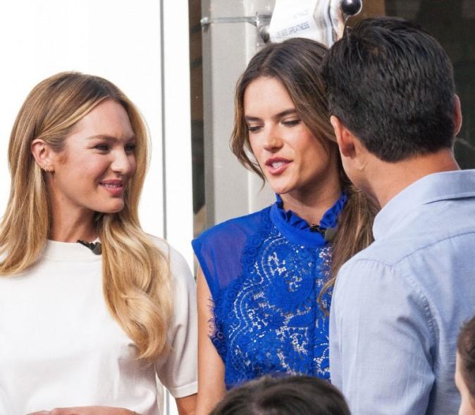 Candice et Alessandra interviewées par Mario Lopez