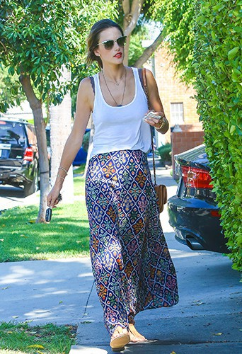 Alessandra Ambrosio à Los Angeles le 22 août 2014