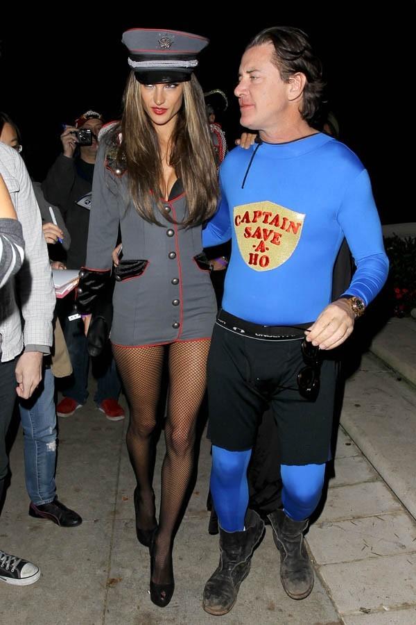 Alessandra Ambrosio à Beverly Hills pour une soirée d'Halloween le 27 octobre 2012
